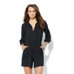 New York and Company 3/4 Sleeve Romper